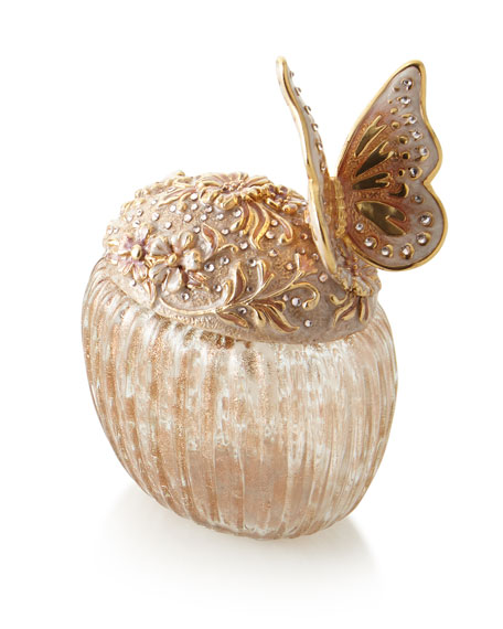 Jay Strongwater Boudoir Butterfly Perfume Bottle