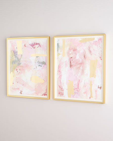 Rosie Abstracts, Set of 2