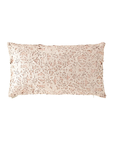 D.V. Kap Home Piaget Metallic Jacquard Pillow