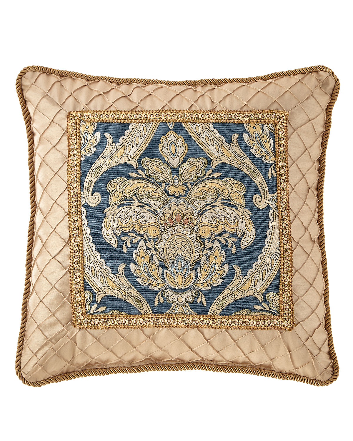 "Austin Horn Collection Celia Pillow, 20""Sq."