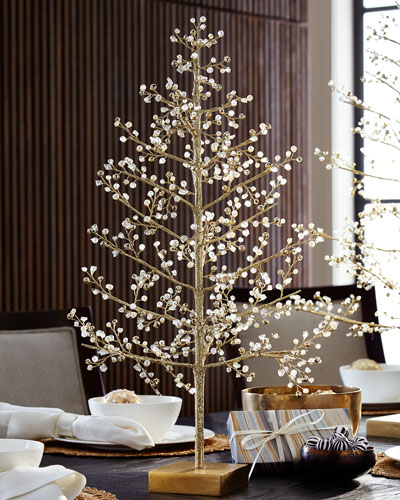 Glimmer & Gold Crystal Tree  24