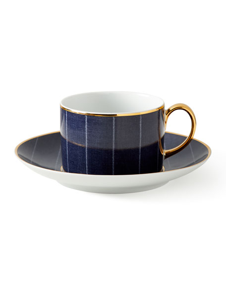 Ralph Lauren Home Ascot Tea Cup and Saucer