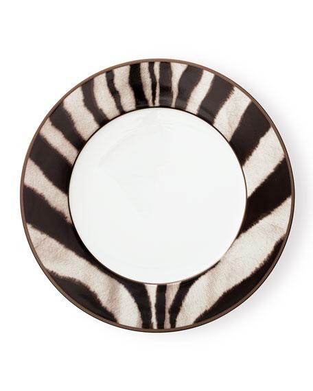 Ralph Lauren Home Kendall Zebra Dinner Plate