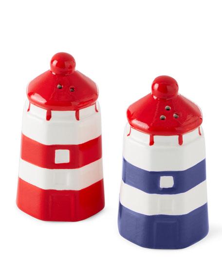 Boston International Anchors Away Salt and Pepper Shakers