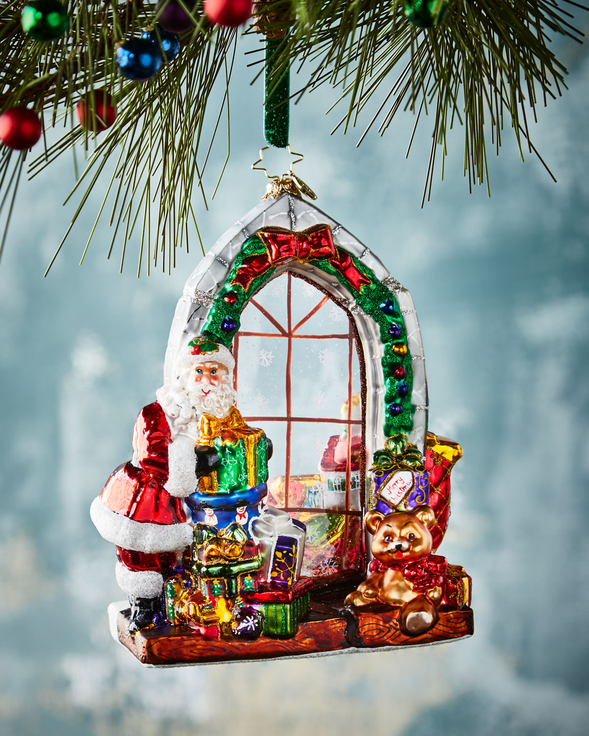 Jolly Inside Out Christmas Ornament by Christopher Radko