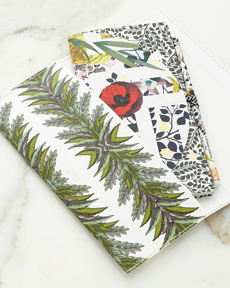 Christian Lacroix Primavera Notebook Set with Pencil Pouch