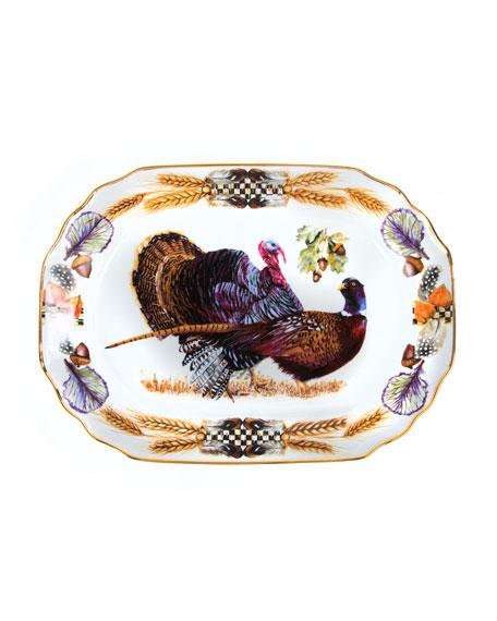 Pheasant Run Large Turkey Platter