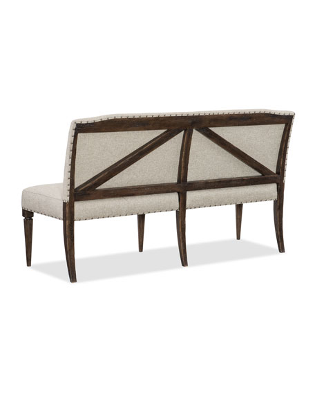 Hooker Furniture Dorianne Upholstered Banquette