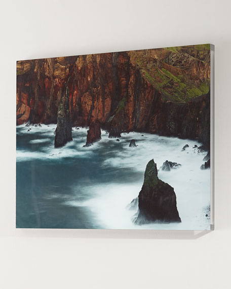 """Four Hands Art Studio """"At the Cliffs"""" Photography Print Handmade Art"""