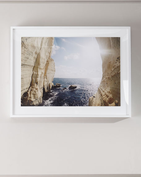 "Four Hands Art Studio ""Peek a Boo"" Photography Print on Photo Paper Framed Art"