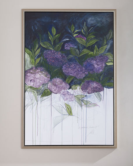 "Image 1 of 3: ""A Gardeners Dream I"" Giclee Wall Art"