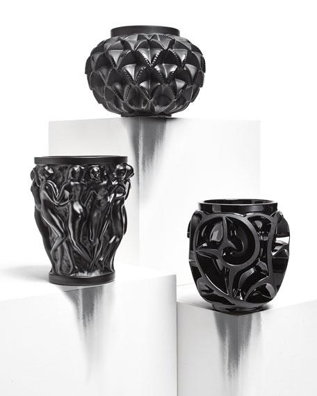 Tourbillons Crystal Vase