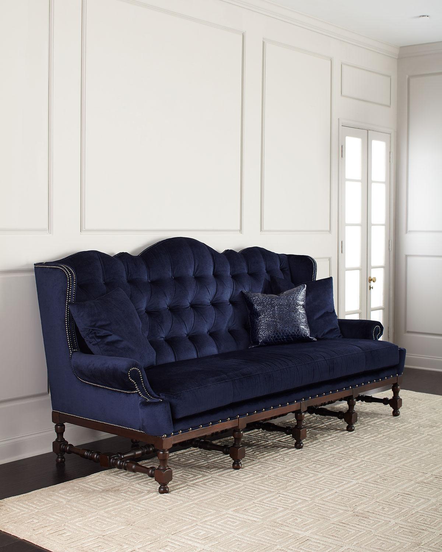 Moud Madrid Tufted Velvet Sofa 103