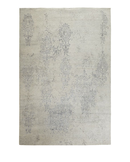 Minette Hand-Knotted Rug, 5.6' x 7.5'