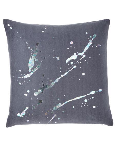 Aviva Stanoff Constellation in Prism Dusk Fleece Pillow