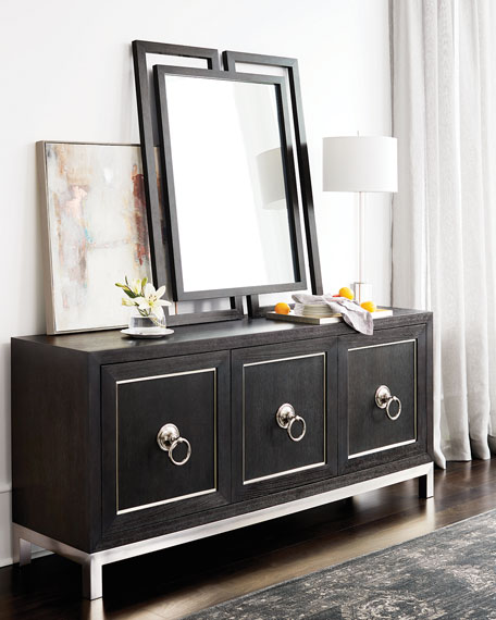 Bernhardt Decorage Stainless Ring Dining Console