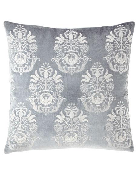 Callisto Home Darboux Velvet Renaissance Decorative Pillow