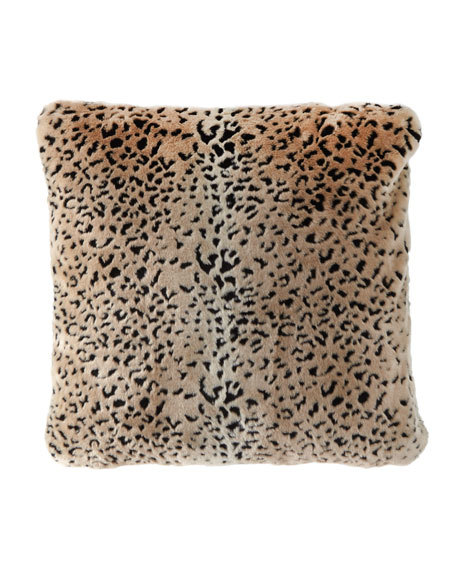 "Fabulous Furs Signature Series Pillow, 24""Sq."