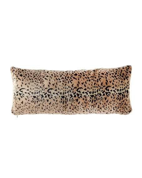 "Fabulous Furs Signature Series Lumbar Pillow, 14"" x 36"""