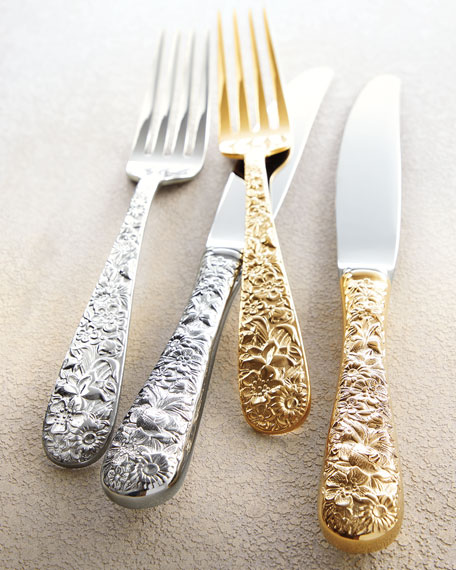 Image 2 of 2: Towle Silversmiths 20-Piece Contessina Flatware Set