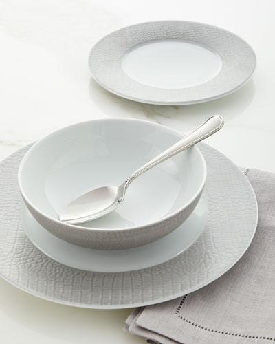 Crocodile Metallic Dinnerware Set