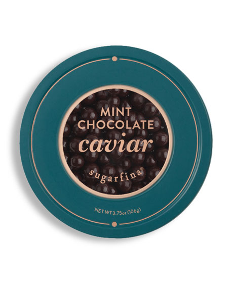 Sugarfina Vice 2.0 Collection Mint Chocolate Caviar Tin