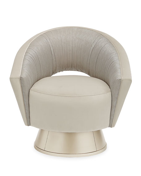 caracole A Com-Plete Turn Around Swivel Chair