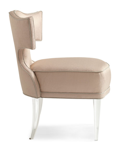 Image 4 of 5: caracole Facet-Nating Accent Chair