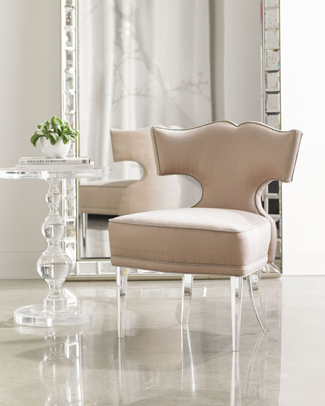 Image 1 of 5: caracole Facet-Nating Accent Chair
