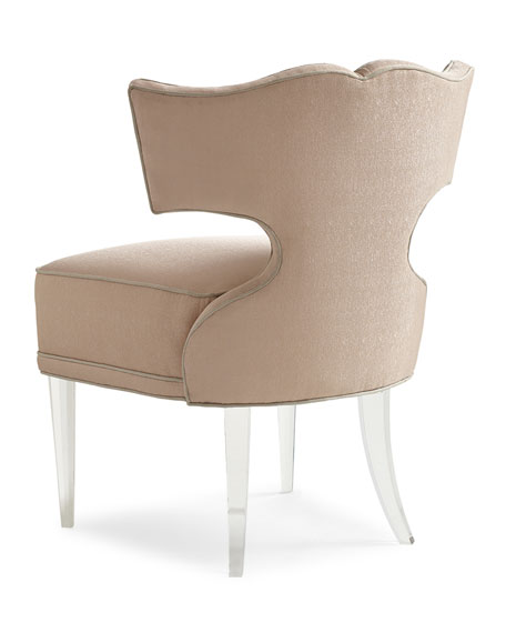 Image 5 of 5: caracole Facet-Nating Accent Chair