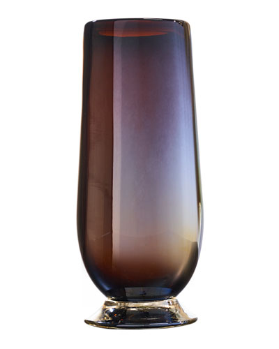 Tio Opalescent Drinking Glass - Chocolate