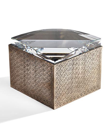 Atelier Swarovski Large Bronze Resin Box