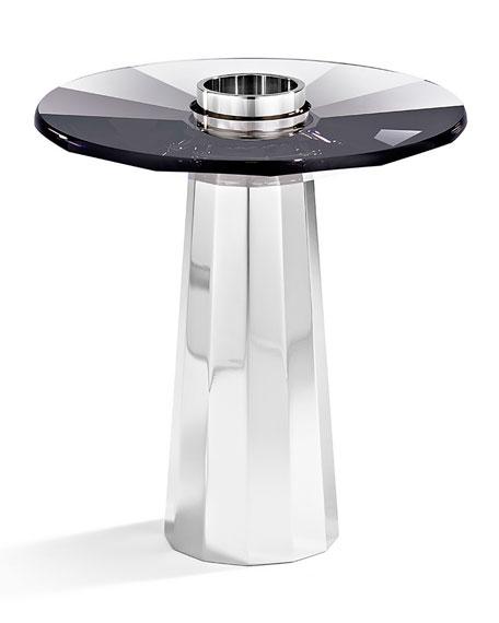 Atelier Swarovski Small Plinth Candleholder, Black
