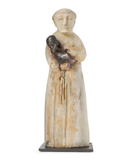 Jan Barboglio San Antonio Saint Statue