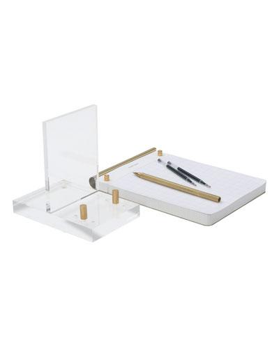 Brass Desk Accessory Bundle
