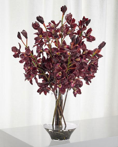 NDI Orchid Cymbidium Floral Arrangement