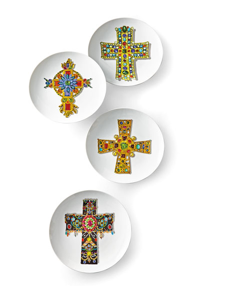 Christian Lacroix Love Who You Want Plates, Set of 4