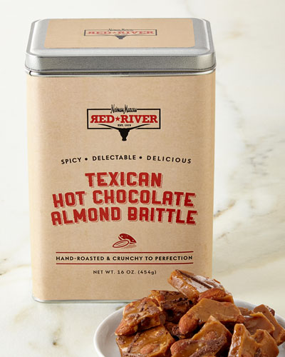 Texican Hot Chocolate Almond Brittle