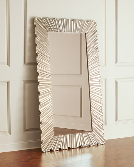 Hooker Furniture Glory Silver Design Floor Mirror