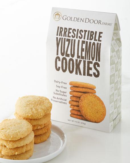 Golden Door Irresistible Yuzu Lemon Cookies
