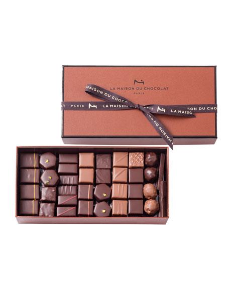 La Maison Du Chocolat 73-Piece Coffret Maison Assorted Chocolate Box