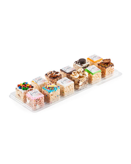 Treat House Assorted Congratulations Rice Crispys, 12-Pack