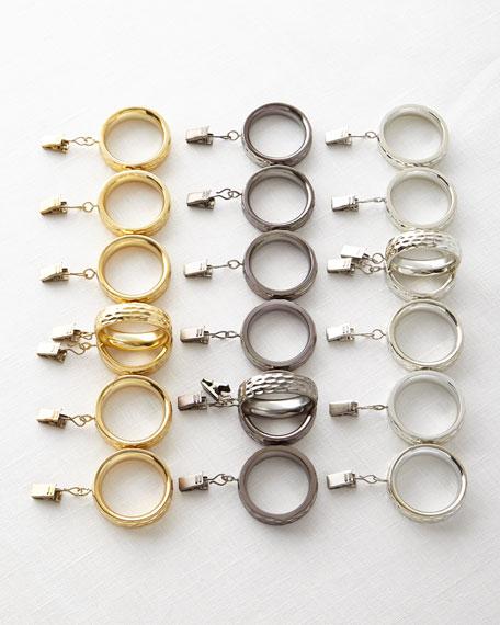 Michael Aram Clip Rings, Set of 7
