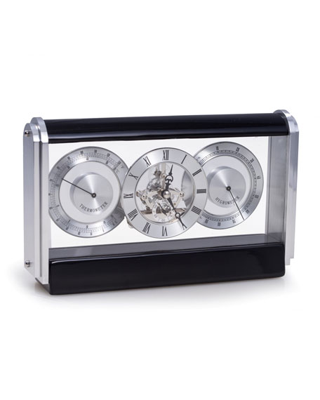 Bey-Berk Skeleton Movement Quartz Clock