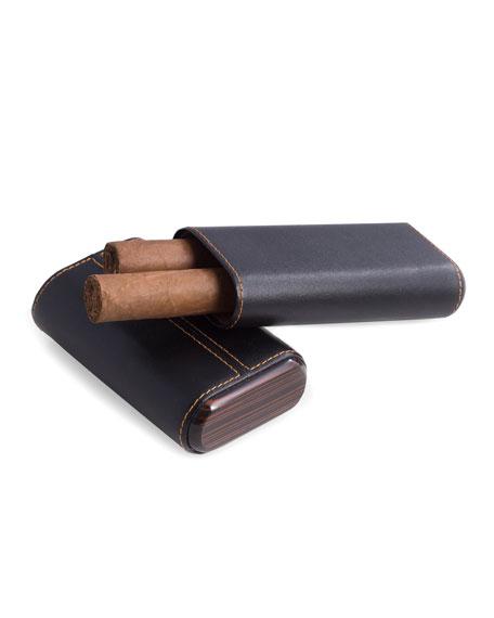 Bey-Berk Leather Cigar Case