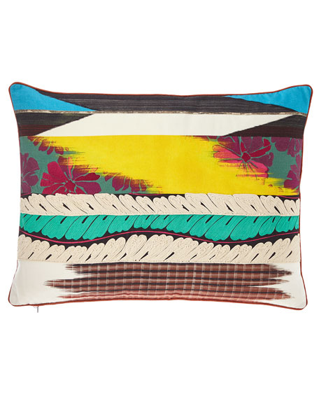 Christian Lacroix Geisha Prisme Pillow