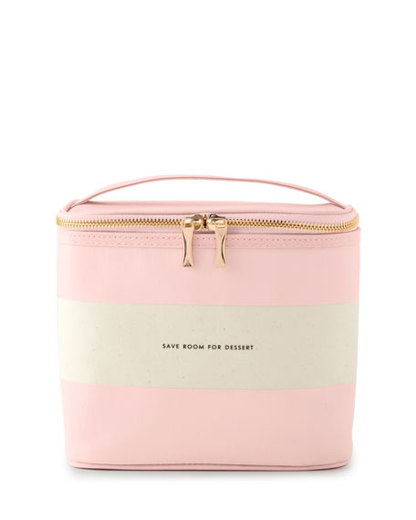 kate spade new york rugby stripe lunch tote