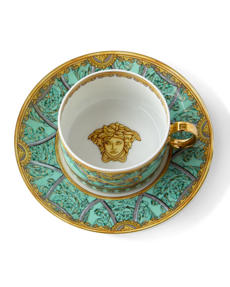 Versace La Scala del Palazzo Cup and Saucer