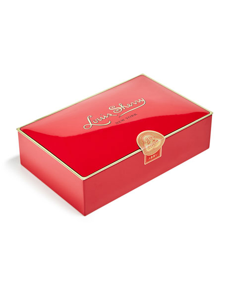 Louis Sherry Vreeland Red 12-Piece Assorted Chocolate Truffle Tin