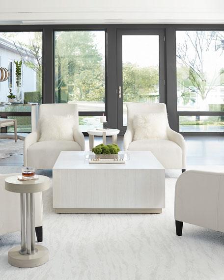 "Bernhardt Axiom Square Coffee Table, 40"""